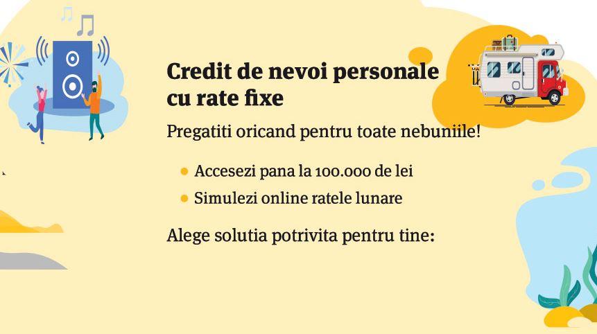 Cele mai ieftine credite de nevoi personale 2019