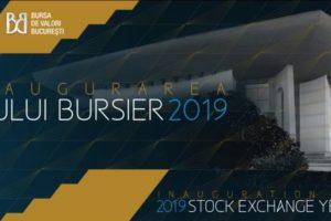 Bursa de Valori Bucuresti a premiat câștigătorii pieței de capital la Gala de Inaugurare a Anului Bursier 2019